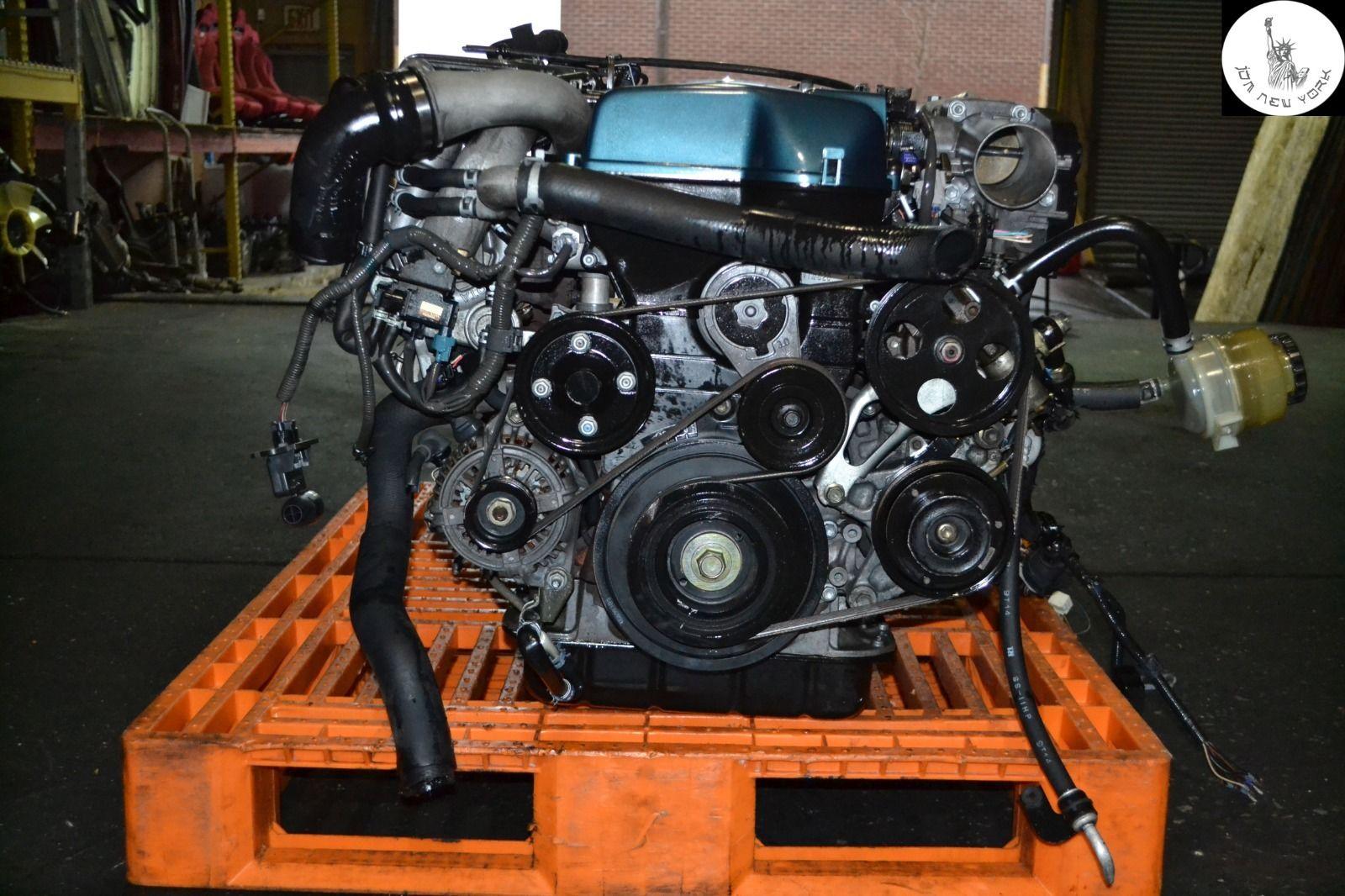 TOYOTA ARISTO JZS161 TWIN TURBO VVT-i ENGINE AUTO TRANS ...