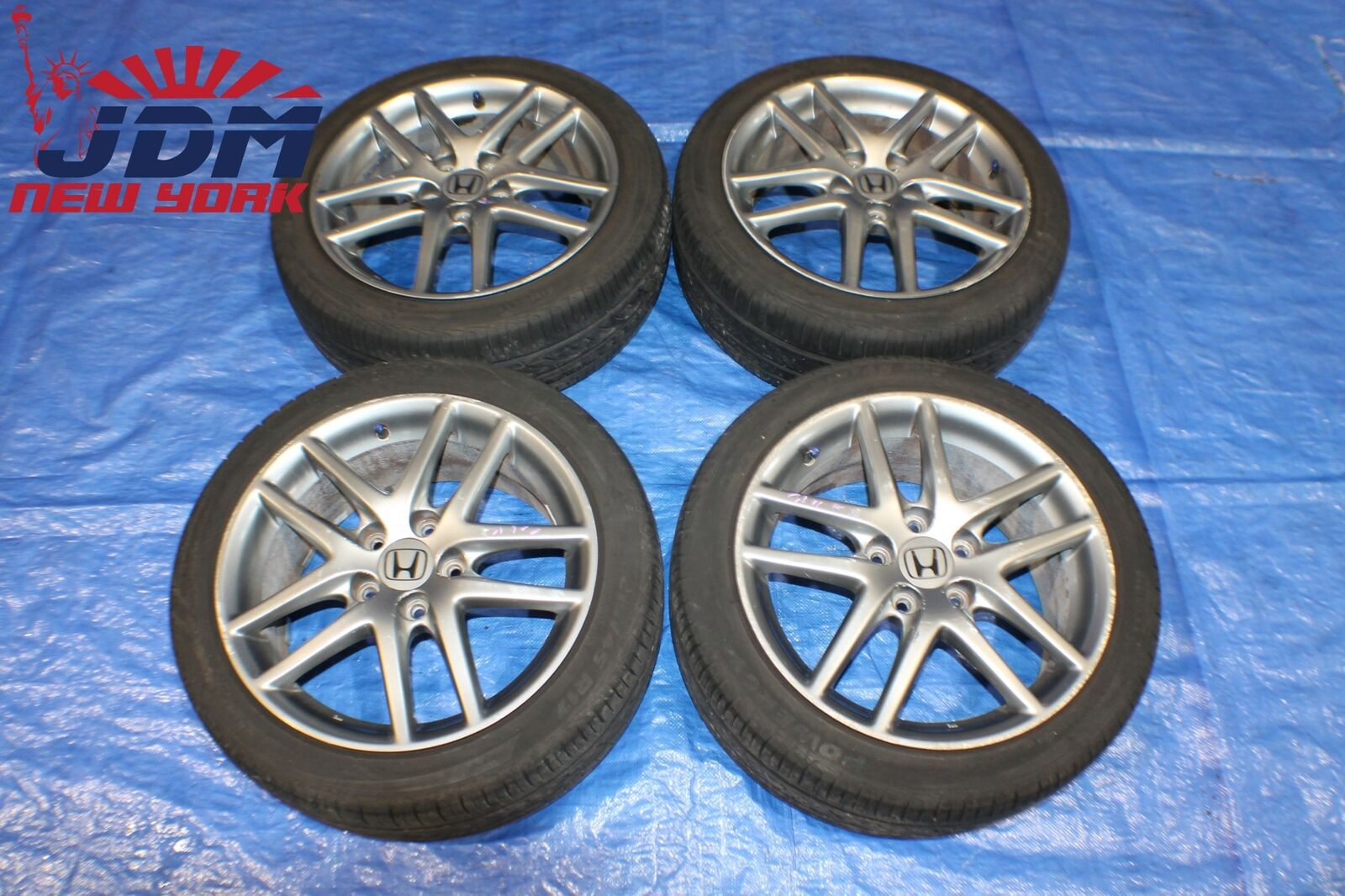 Jdm Honda Acura Integra Type R Dc5 Rsx 4 5x114 3 17x7 Jj Wheels Rims 215 45 R17 Jdm New York